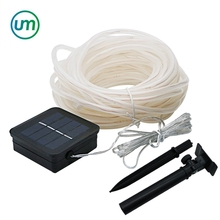 Outdoor Solar Powered 33Ft 100 LED 10 mt Fairy Light String Für Party Weihnachten Urlaub