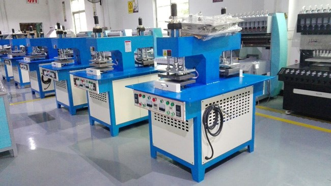 JY-B04 silicone labels on felt making machine