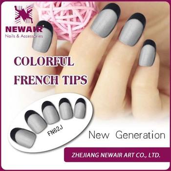Vivi French Artificial Women Wide Acrylic Nails