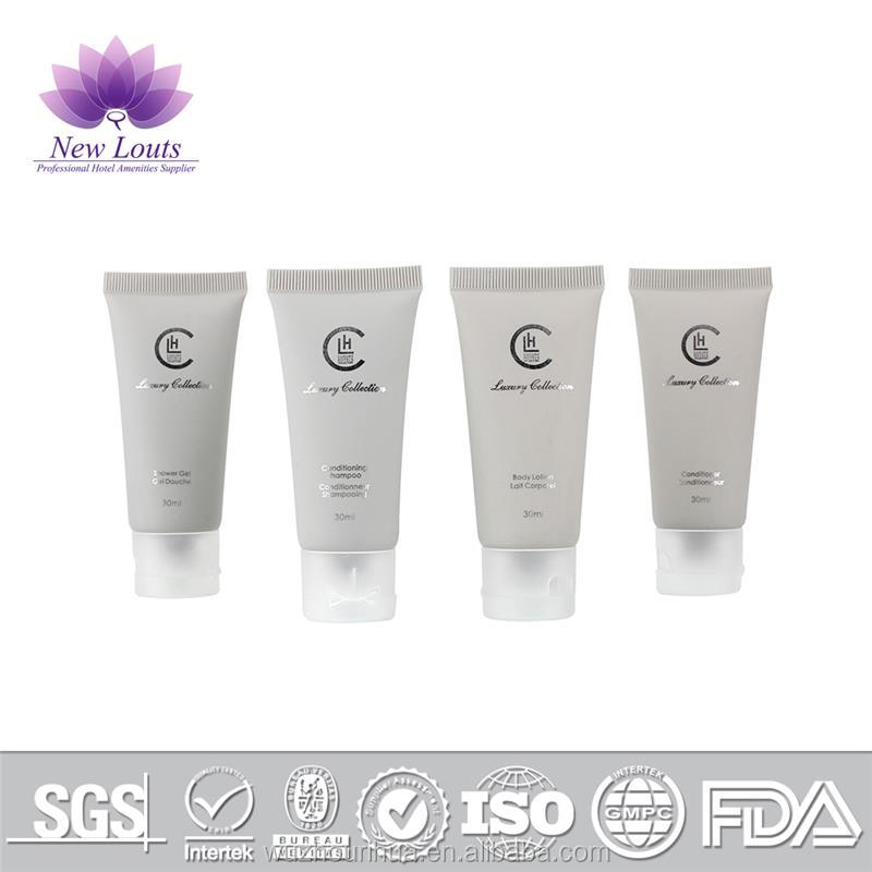 Plastic disposable hotel amenity amenties plastic lotion containers Cosmetic tube with high quality