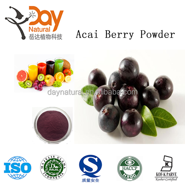 Factory direct supply 100% natural acai berry powder with low price
