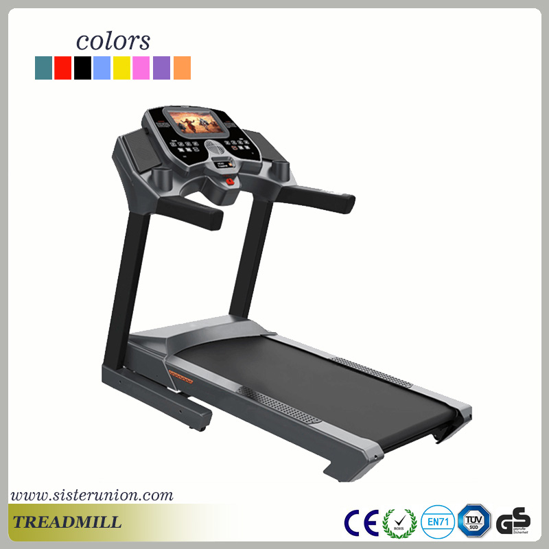 Fitness body building commercial sport track treadmill