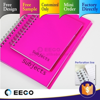 Custom Good All Kinds Of Pp Notebooks Writing Pads For School ...