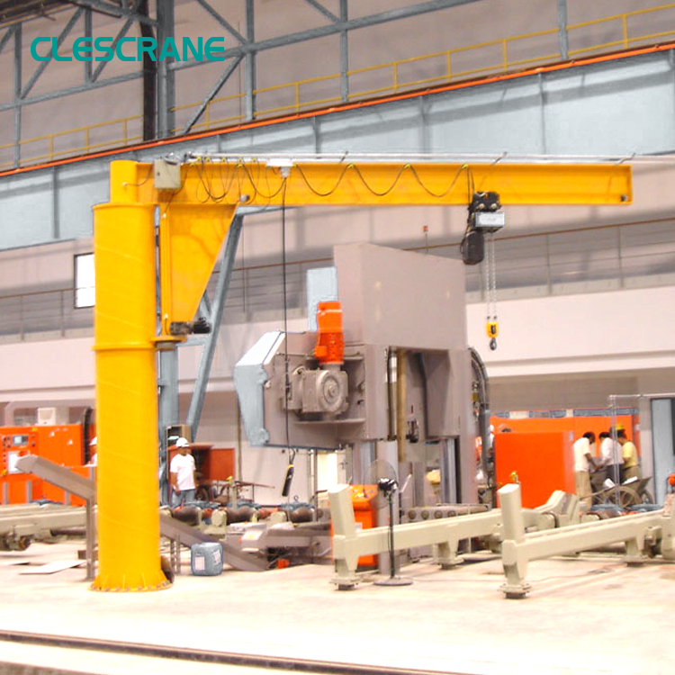 professional design industrial use jib crane drawing design
