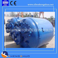 Automatic Type electric heating enamel glass lined reactor chemical mixing tank