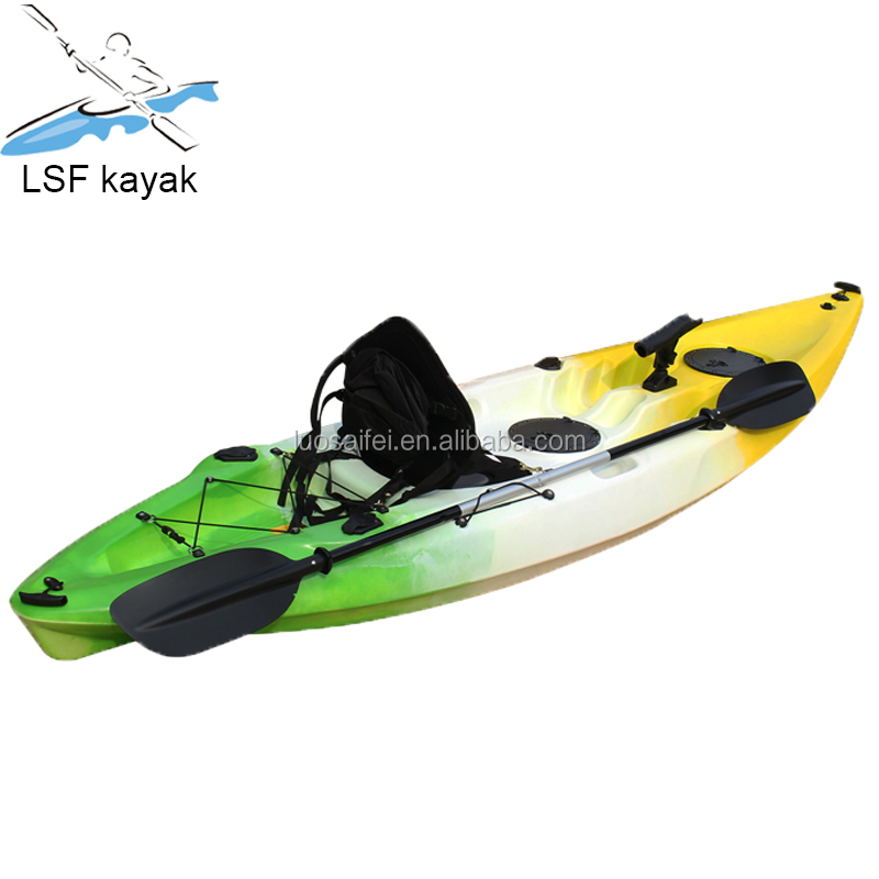 1 paddle (max) singolo kayak sit on top No polietilene LLDPE kayak barca da pesca Gonfiabile