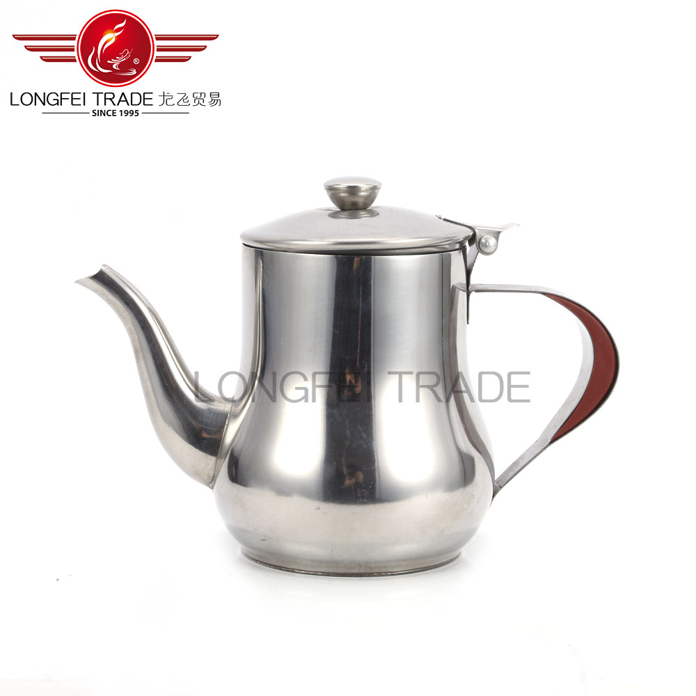Double Wall Stainless Steel Teapot