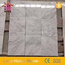 Alibaba Best imported white Manhattan Marble for tile slab