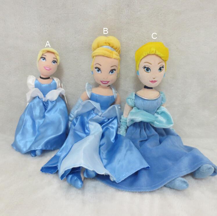 Original Cinderella Mini Bean Bag Plush Doll Bonecas Princesas Brinquedos Meninas Princess Doll for Girls