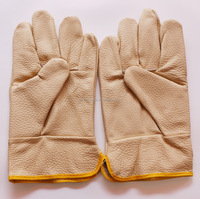 TOP QUALITY PIG SKIN LEATHER GLOVES WORKING GLOVES
