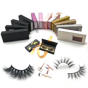 United States 2018 Hot Products Cruelty Free 3D Mink Lashes Marble Bag Premium Mink Eyelashes
