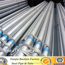 Hot dipped galvanized steel pipe properties