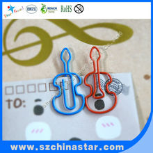 Beautiful shape Kinds of music paper clip ROHS REACH