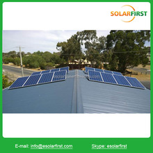 solar panel roof mounting brackets home solar system india