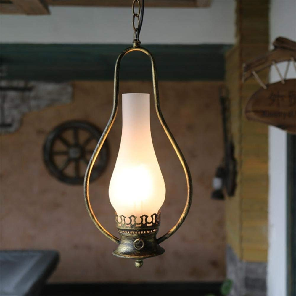 GLX Retro chandeliers, industrial tea floor lamp, the classic old chandeliers 20CM 98CM
