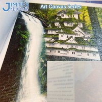 Wholesale White Back Waterproof Art Canvas