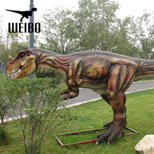 Hot sale Zigong mechanical animatronic dinosaur t-rex for sale
