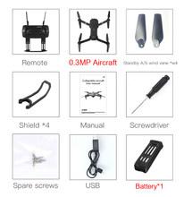 Eachine E58 RC Квадрокоптер мини-Дрон WIFI FPV Профессиональный с 720P/1080P широкоугольная HD камера складные руки гоночный Дрон игрушки(Китай)
