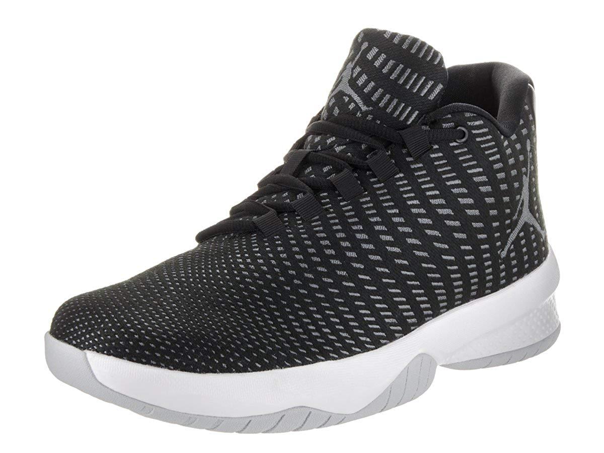 online store bfb6d 3498b Get Quotations · Jordan Mens Jordan B. Fly Black White Dark Grey Basketball  Shoe 9 Men