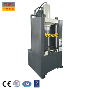 deep drawing 4 column hydraulic press cookware automotive parts forming 315 ton servo machine