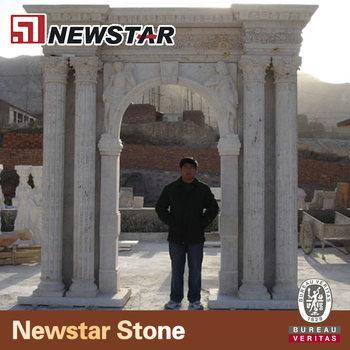 Newstar Handcraft Door Marble Stone Gate Pillar Design - Buy Marble Stone  Gate Pillar Design,Stone Gate Pillar Design,Gate Pillar Design Product on