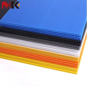 Wholesale Corrugated Plastic Cardboard Sheets Custom