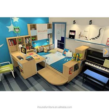 Homemade cartoon design baby bookshelf kids bedroom for American children s bedroom furniture