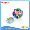 2016 Best Selling Puzzle Colorful Squeaky Ball Dog Toys Funny