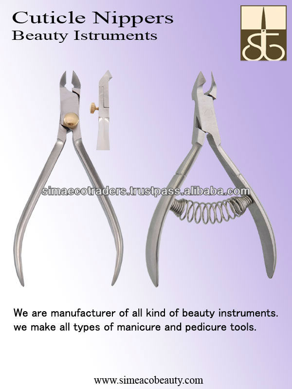 Cuticle Nail Nippers Manicure Nail Care Tool,Beauty Instruments ...