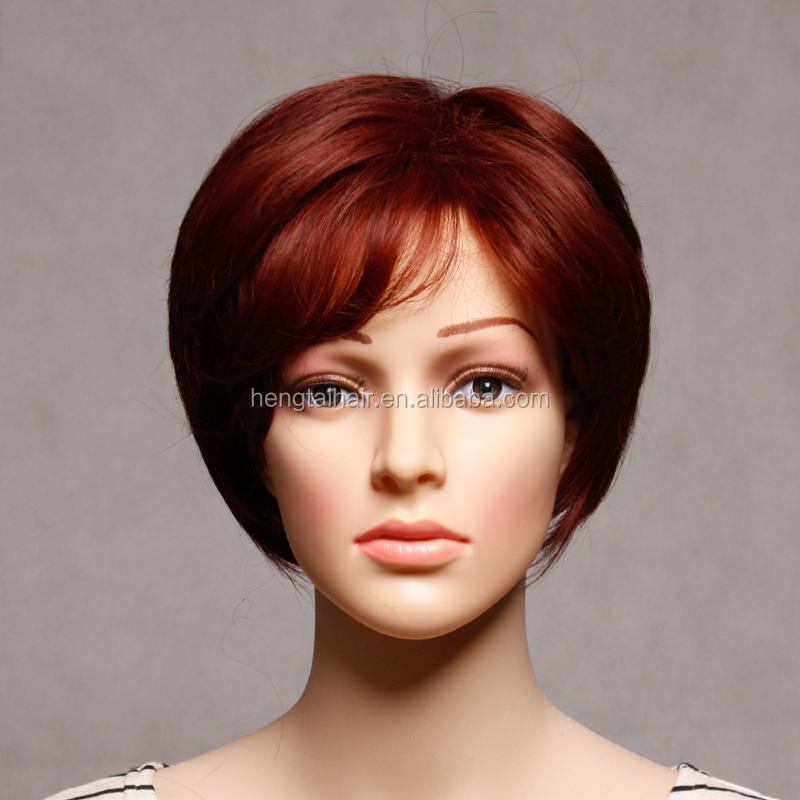 Short Wig Cosplay Red Color Love Live Cosplay Perruque Synthetic Women Women's Wig Pelucas Pelo Natural Peruca Cosplay