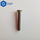 Copper countersunk phillips head screw