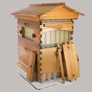 China supplier directly supplies bee honey beehive automatic flow hive for bees keeping