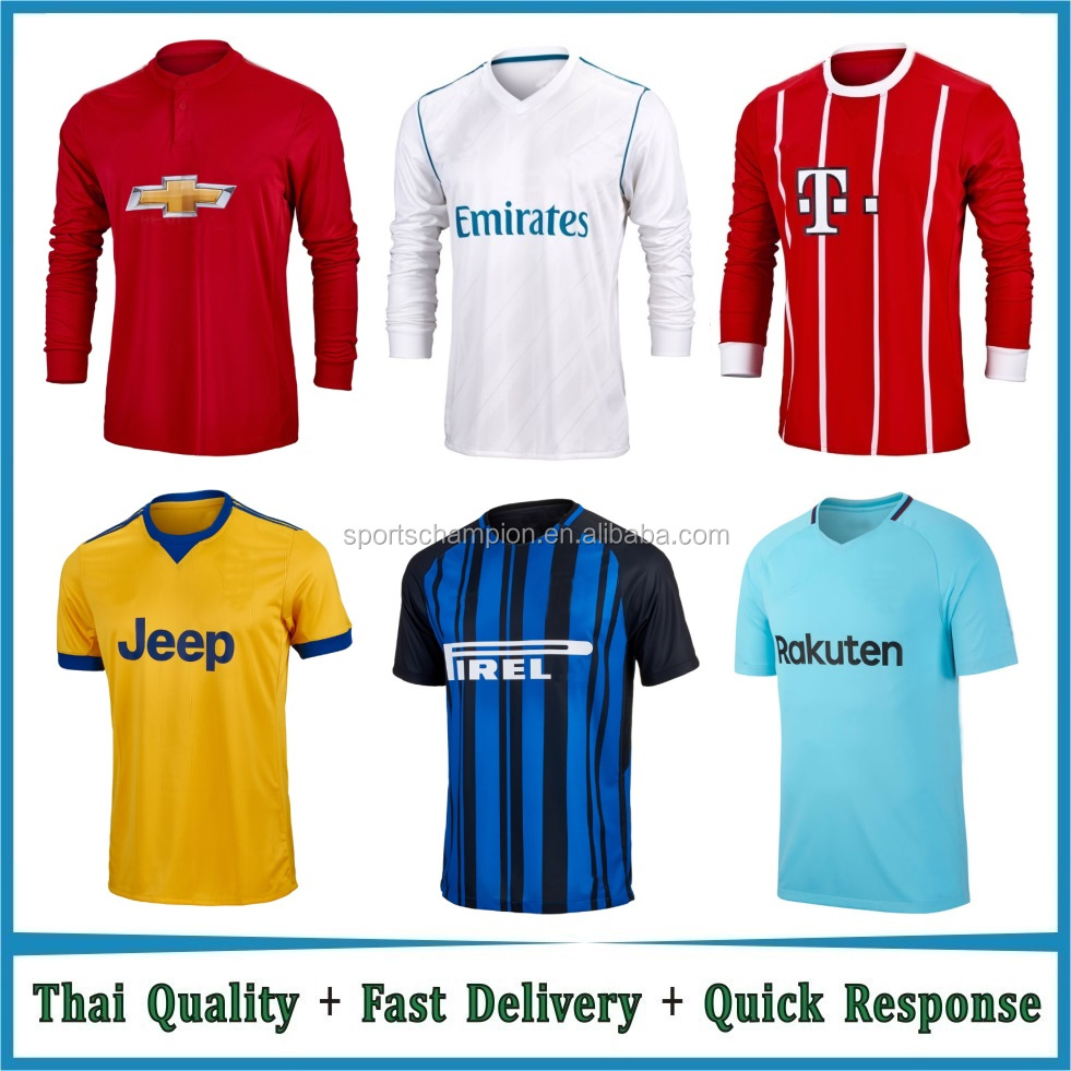 Wholesale Man Sportswear Grade Original Soccer Jerseys football shirt maker soccer jersey