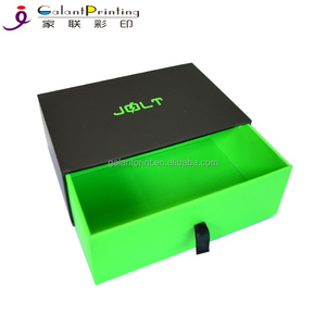 Guangzhou Kraft Mini Gift Packing Boxes Slide Drawer Paper Boxes