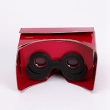 Magenta Vr Glass For Kids Custom Printing Available Any Color 3D Glasses