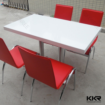 Fast Food Restaurants Used Marble Tables And Countertops