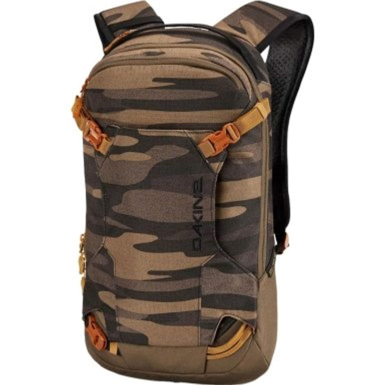 5fc43e4f488 Get Quotations · Dakine Men's Heli Pack 12L Backpack Field Camo OS & Knit  Cap Bundle