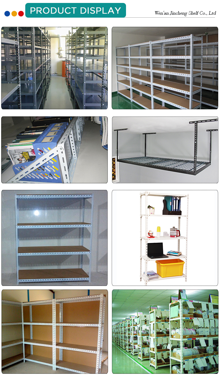 Powder Coated Storage Slotted Angle Steel Rack