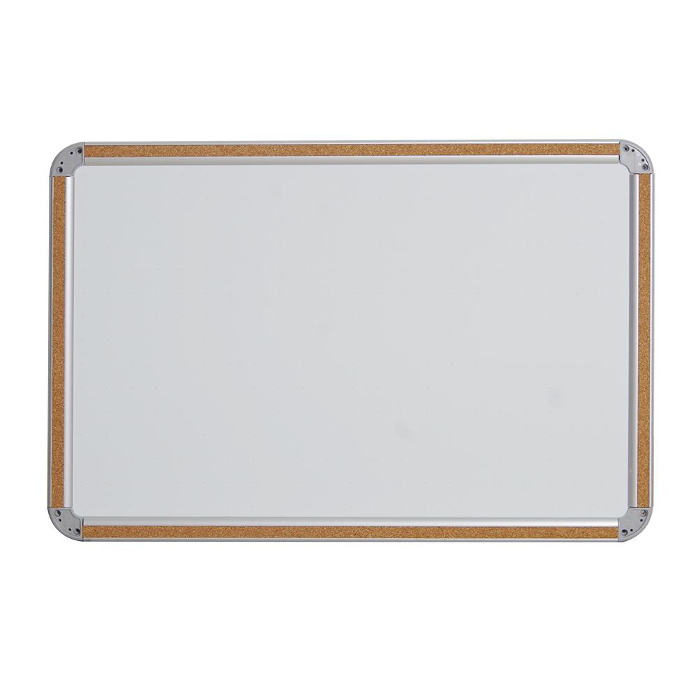 16*20mm kantoor & school supplies magnetische aluminium frame whiteboard kurk white board