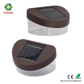 Nieuwe Product Outdoor Solar Verlichting Ronde Led Gutter Lichten ...