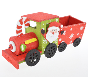 Christmas Train Figure Xmas New Year Decoration Home Decor Gift Present Felt Ornaments