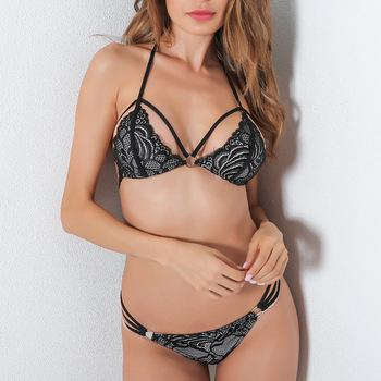 b51d6871a B31427A China Factory Comfortable Hot Girls Transparent Underwear Sexy bra  set