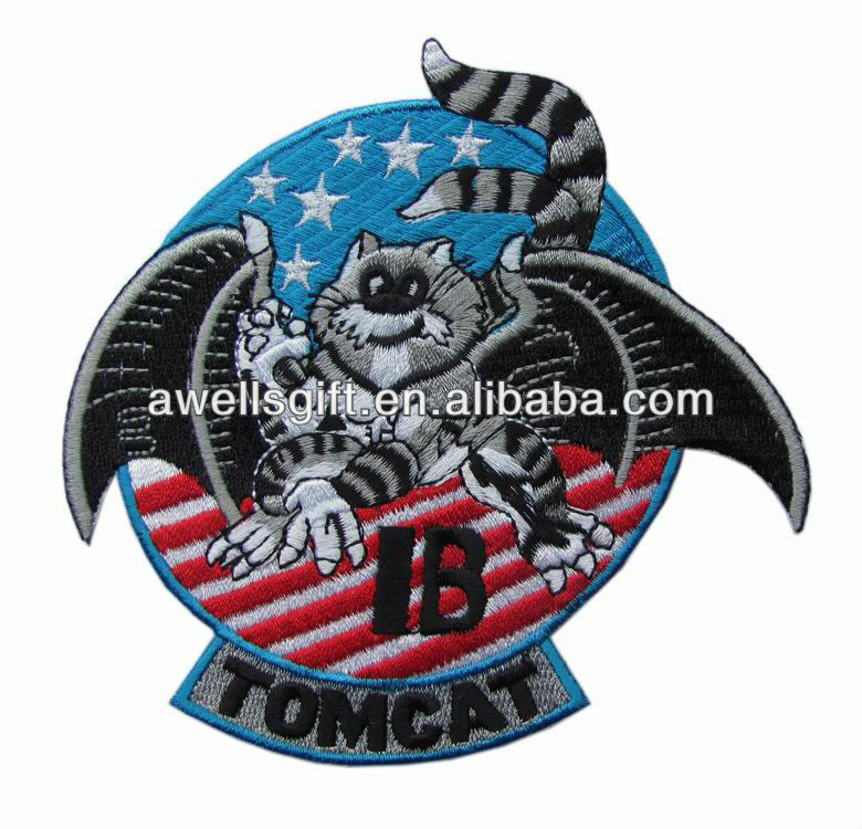 US NAVY F-14 A+ TOMCAT TACTICAL FIGHTER PATCH TOMCAT A+