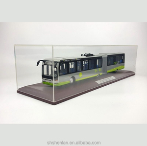 44x5.7x7.7cm bus model zinc alloy 1:43 toy bus model
