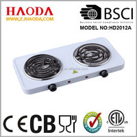 2000W High Efficient Electric double cookig stove