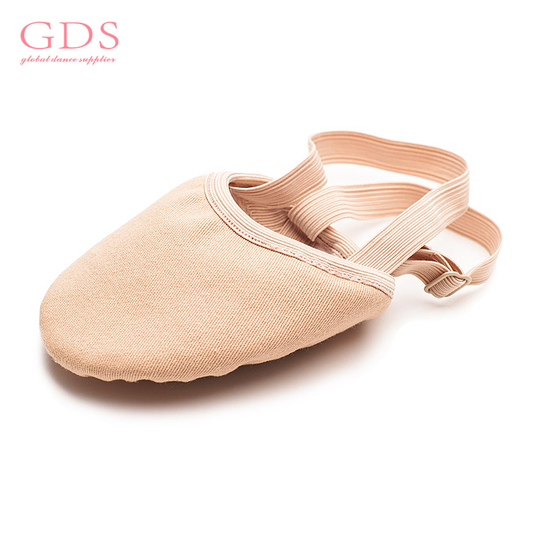 Lyrical Dance Half Sole Elastic Belly Shoes