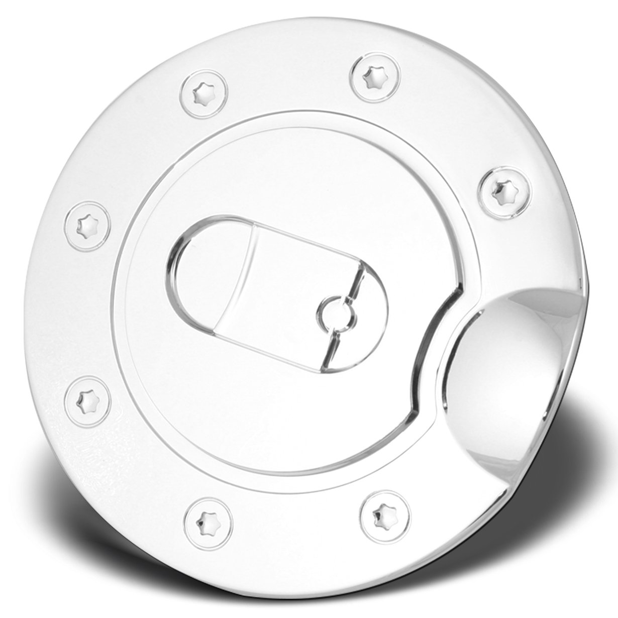Get Quotations Automodzone Chrome Abs Fuel Tank Gas Door Cap Cover For 88 01 Chevy C