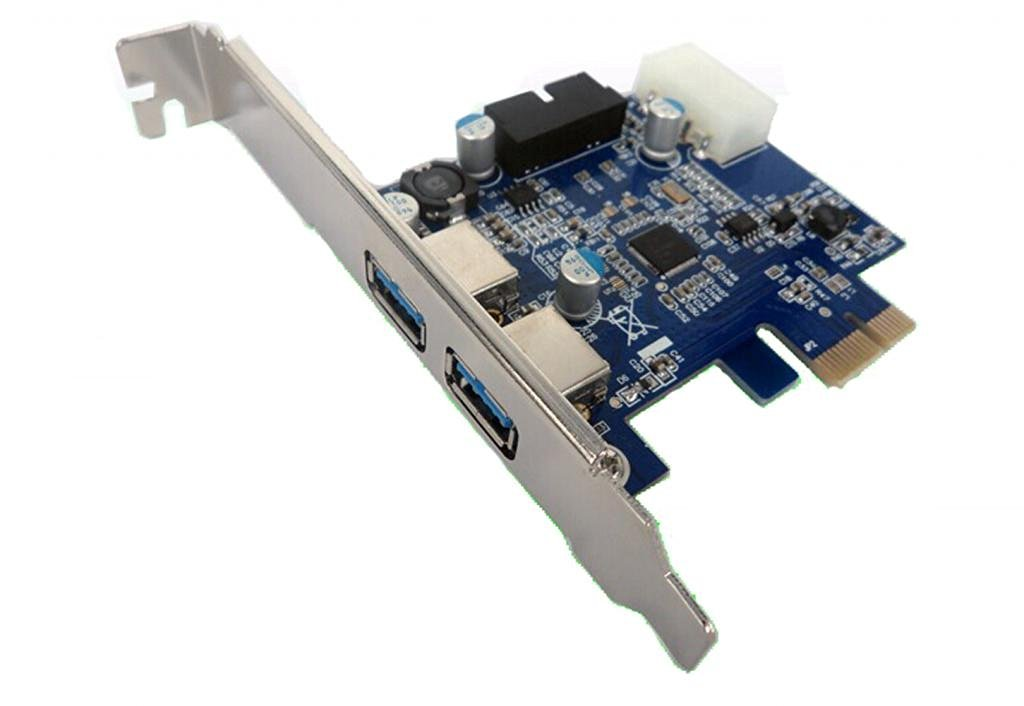 Top-cofrLD Super Speed Pci-e to USB 3.0 2 Port Express Card with 1 USB 3.0 20-pin Connector