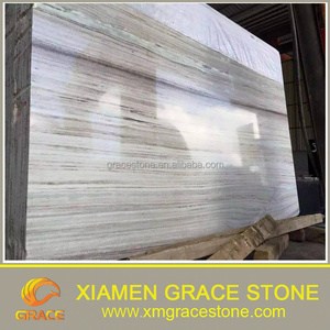 Natural White/Beige/Wood Grain Marble Slab Perlino Bianco for Flooring/Bathroom Tiles