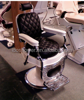 Vintage Barber Chair With Used Shop Furniture For Cheap